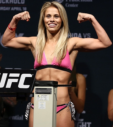 Paige VanZant Height Weight Body Shape