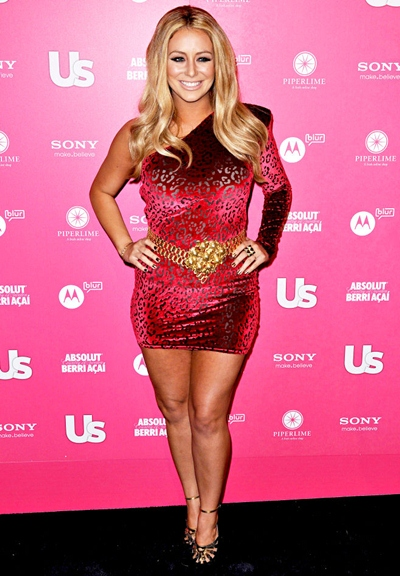 Aubrey O'Day Height Weight Body Shape