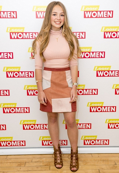 Connie Talbot Height Weight Body Shape