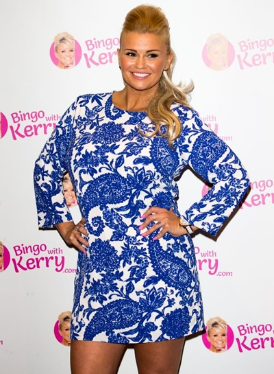 Kerry Katona Body Measurements Bra Size