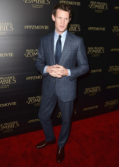 Matt Smith Height Weight Body Shape