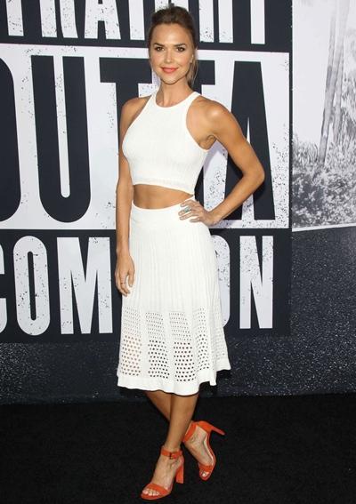 Arielle Kebbel Height Weight Body Shape