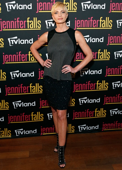 Jaime Pressly Height Weight Body Shape