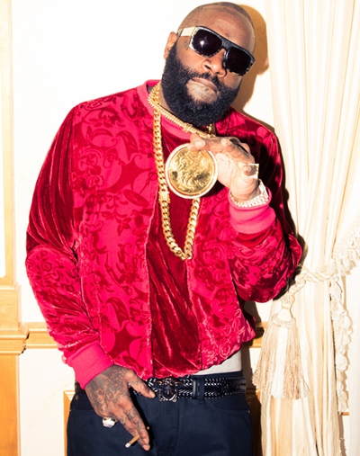 Rick Ross Body Measurements Shape