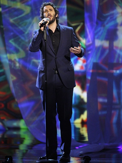 Josh Groban Height Weight Body Shape