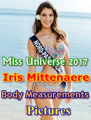 Miss Universe Iris Mittenaere Pictures Body Shape Measurements