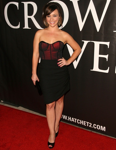 Danielle Harris Body Measurements Shoe Bra Size