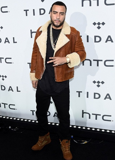 Rapper French Montana Body Measurements Shoe Size