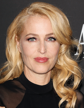 Actress Gillian Anderson