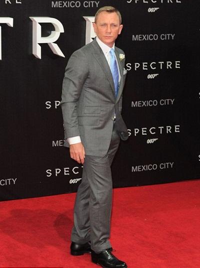 Daniel Craig Height Weight Shoe Size