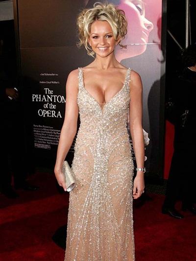 Jennifer Ellison Body Measurements Bra Size