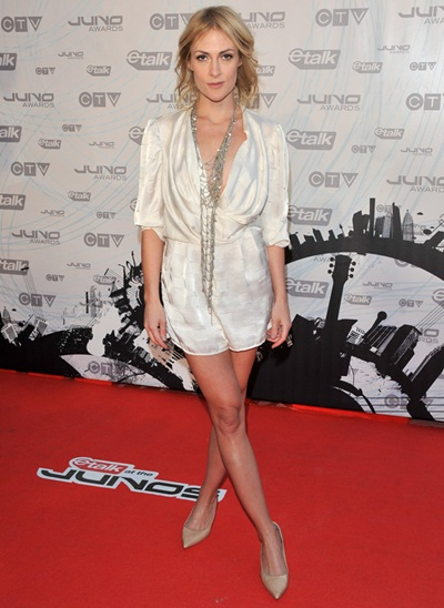 Singer Emily Haines Measurements Body Shape
