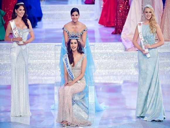 Miss World 2017 Manushi Chhillar Crown