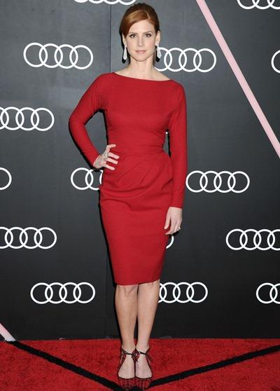 Sarah Rafferty Weight Height Bra Size