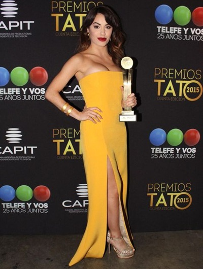 Lali Esposito Measurements Body Shape