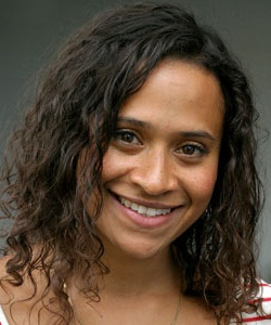 Actress Angel Coulby