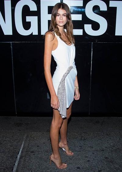 Kaia Gerber Height Weight Shoe Size