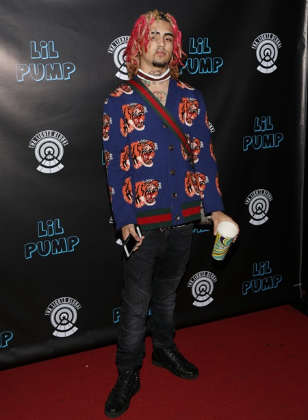 Rapper Lil Pump Height Weight