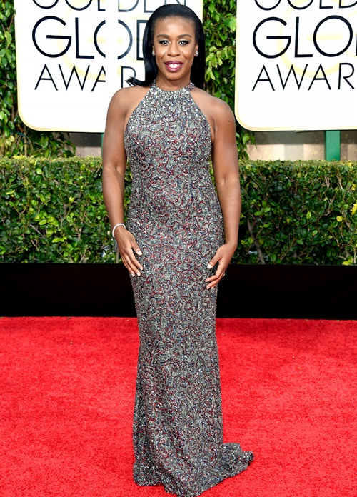 Uzo Aduba Measurements Body Shape