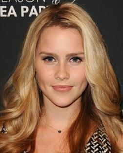 Actress Claire Holt