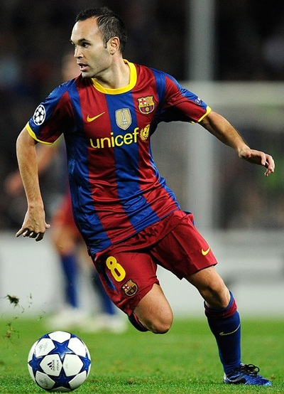 Andres Iniesta Height Weight Shoe Size