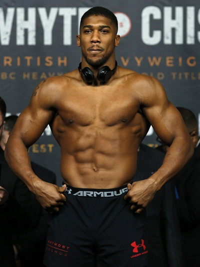 Anthony Joshua Weight