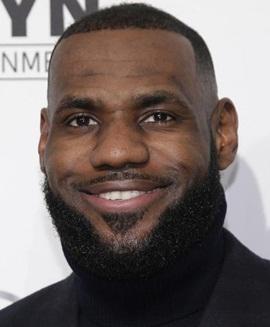 Basketball player LeBron James