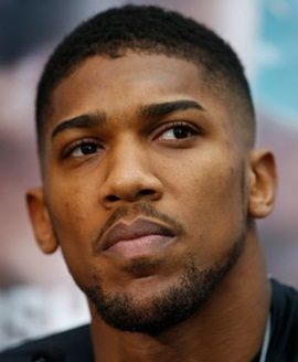 British Boxer Anthony Joshua