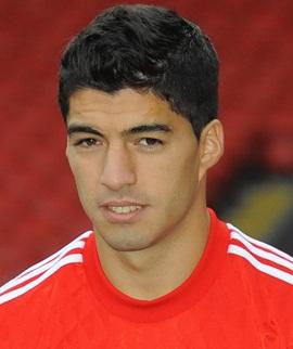 Footballer Luis Suarez