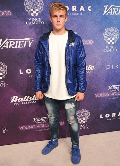 Jake Paul Height Weight Shoe Size