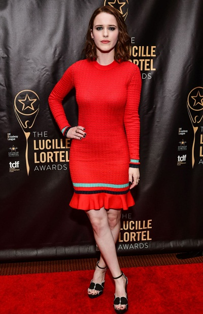 Rachel Brosnahan Height Weight Stats