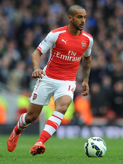 Theo Walcott Height Weight Shoe Size