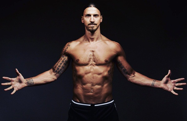Zlatan Ibrahimovic Body Measurements Stats