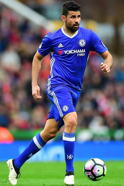 Diego Costa Height Weight Shoe Size