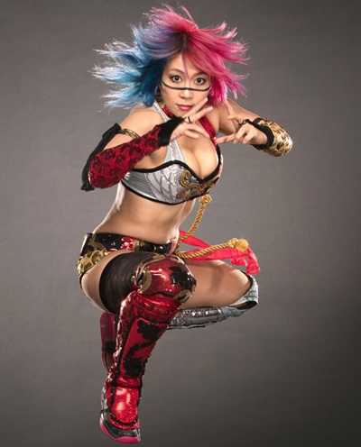 WWE Diva Asuka Height Weight Stats