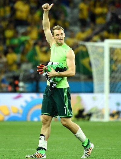 Manuel Neuer Height Weight Shoe Size