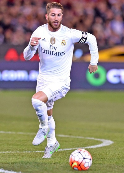 Sergio Ramos Body Measurements Facts