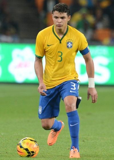 Thiago Silva Height Weight Shoe Size