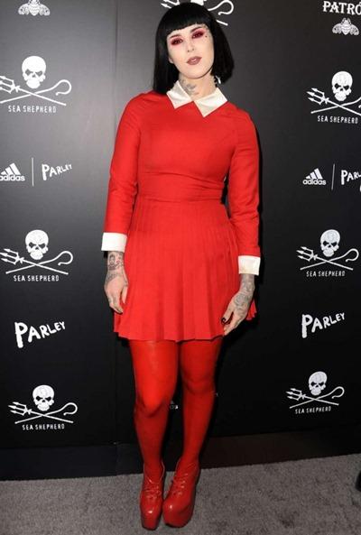 Kat Von D Height Weight Shoe Size