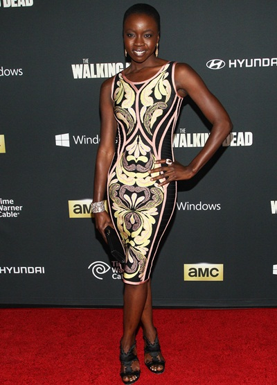 Danai Gurira Body Measurements Stats
