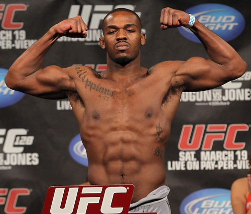 Jon Jones Height Weight Body Stats