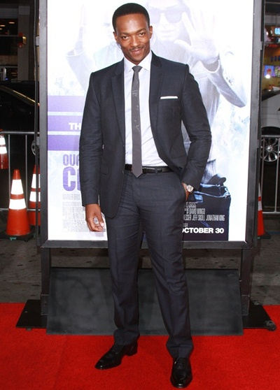 Anthony Mackie Body Measurements Stats