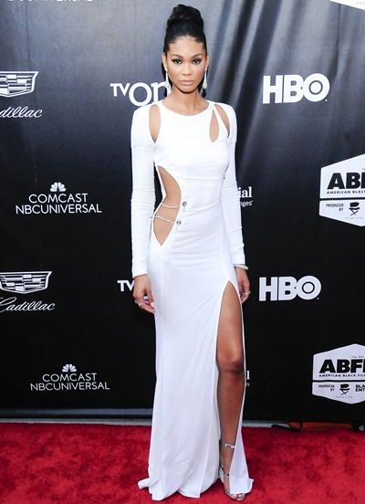 Chanel Iman Body Measurements Statistics