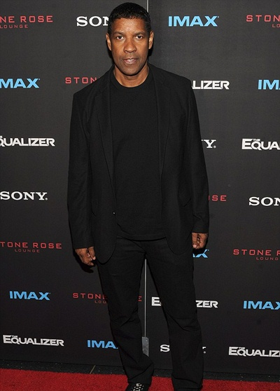 Denzel Washington Body Measurements Stats