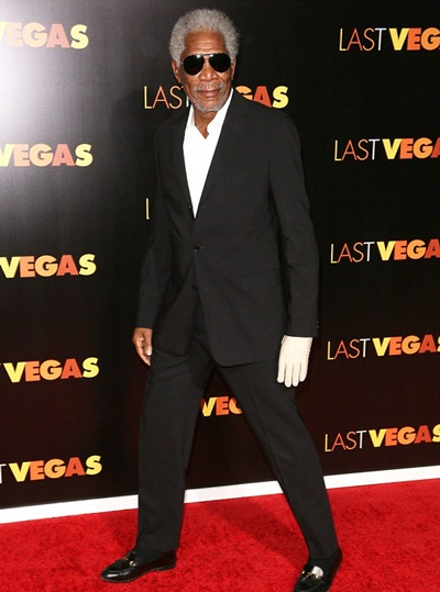 Morgan Freeman Height Weight Shoe Size