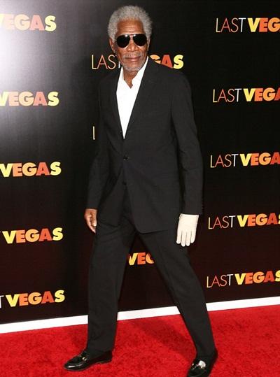 Morgan Freeman Height Weight Shoe Size
