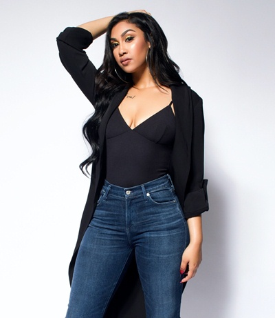 Queen Naija Body Measurements Stats