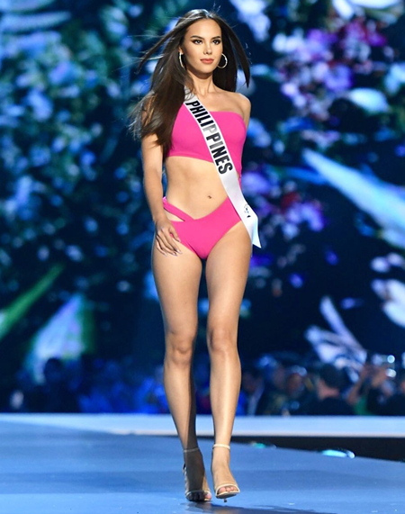 Catriona Gray Height Weight Bra Size