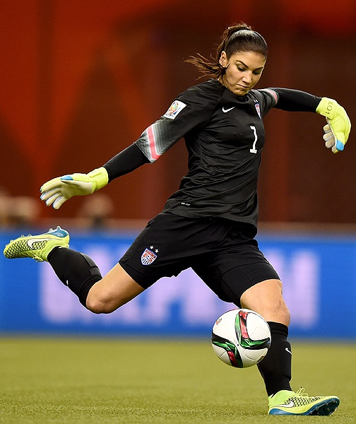 Hope Solo Height Weight Shoe Size