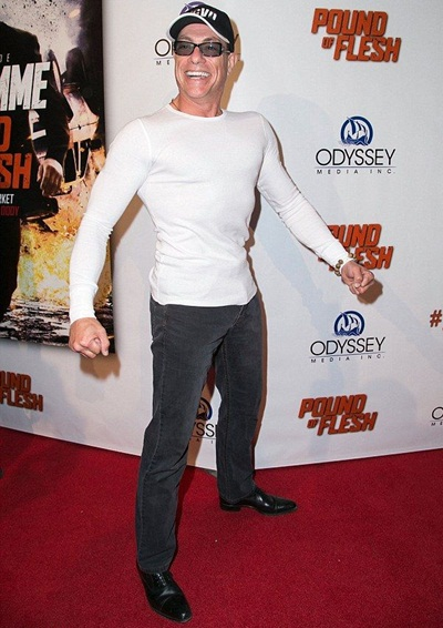 Jean Claude Van Damme Height Weight Stats